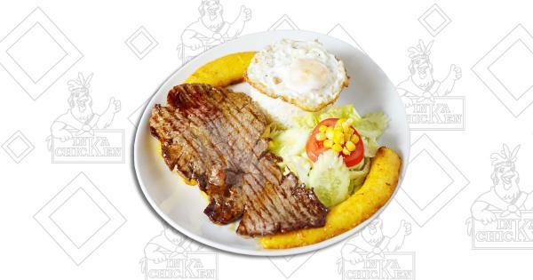 Bistec a lo Pobre - Ristorante Peruviano Inka Chicken