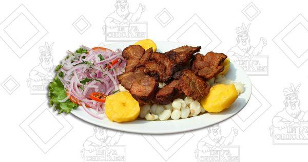 Chicharrón de Chancho - Ristorante Peruviano Inka Chicken