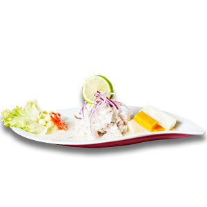 Cebiche con Mango - Ristorante Peruviano Inka Chicken