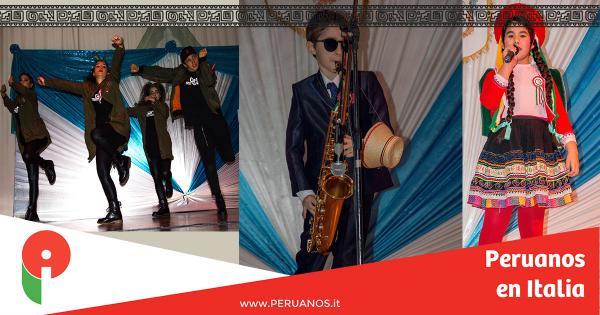 Roma, Gran éxito del concurso Pioggia di Talenti - Peruanos en Italia