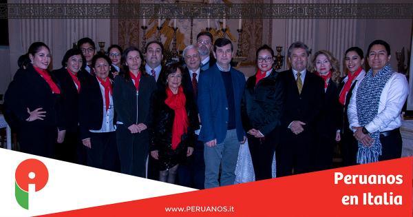 ROMA, Gran afluencia al concierto de beneficiencia pro Santa María della Luce - Peruanos en Italia