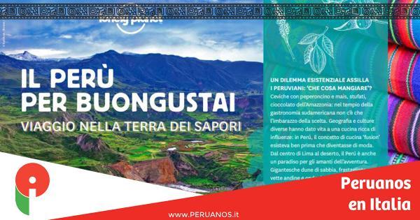 Guía Lonely Planet: El Perú para gourmets - Peruanos en Italia