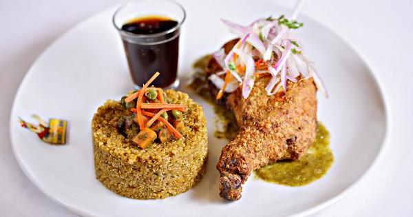 quinoa con pollo peruano